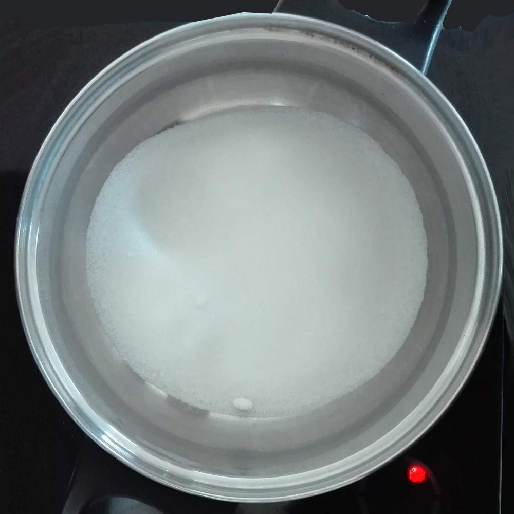 Cukr před vařením