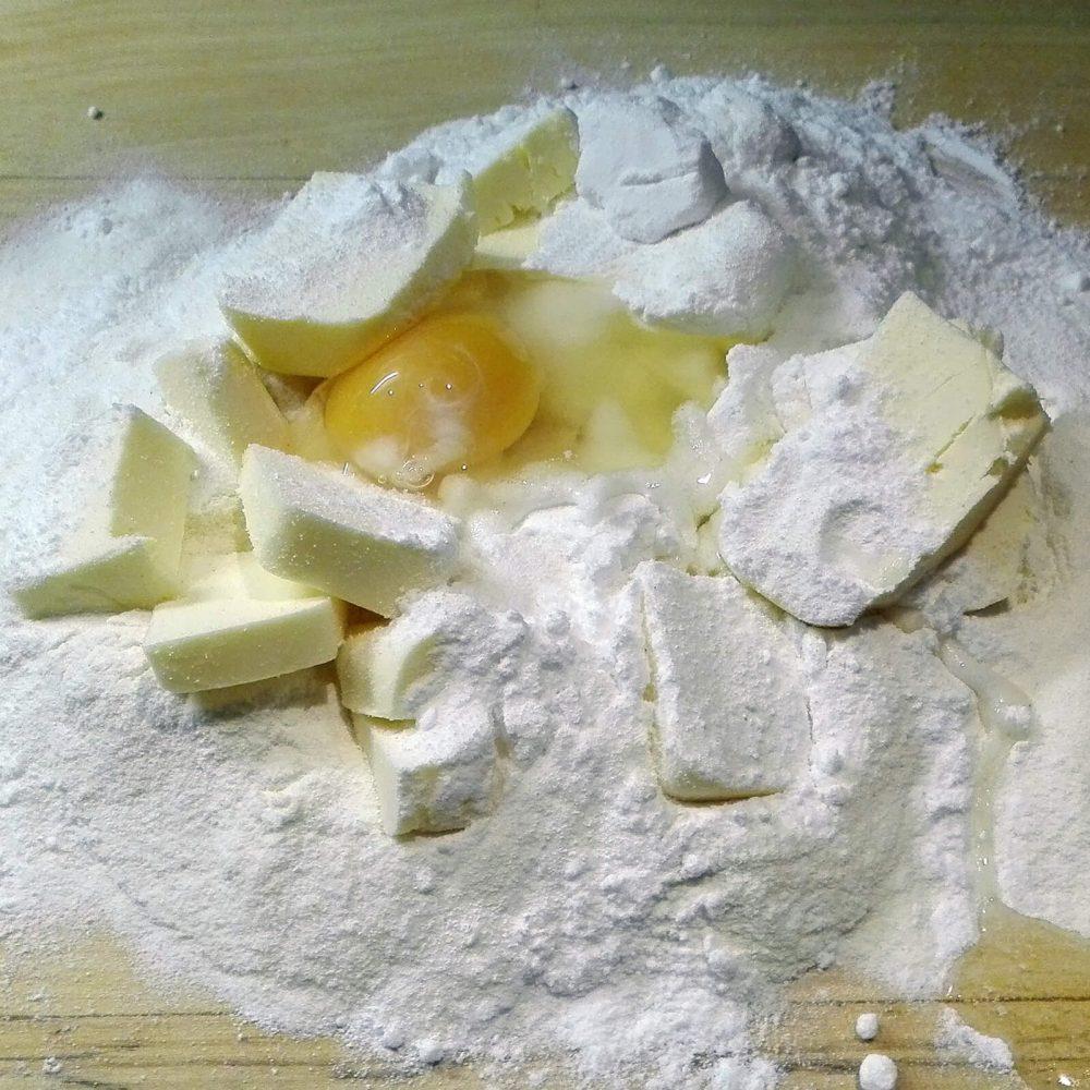 Příprava těsta na cheesecake