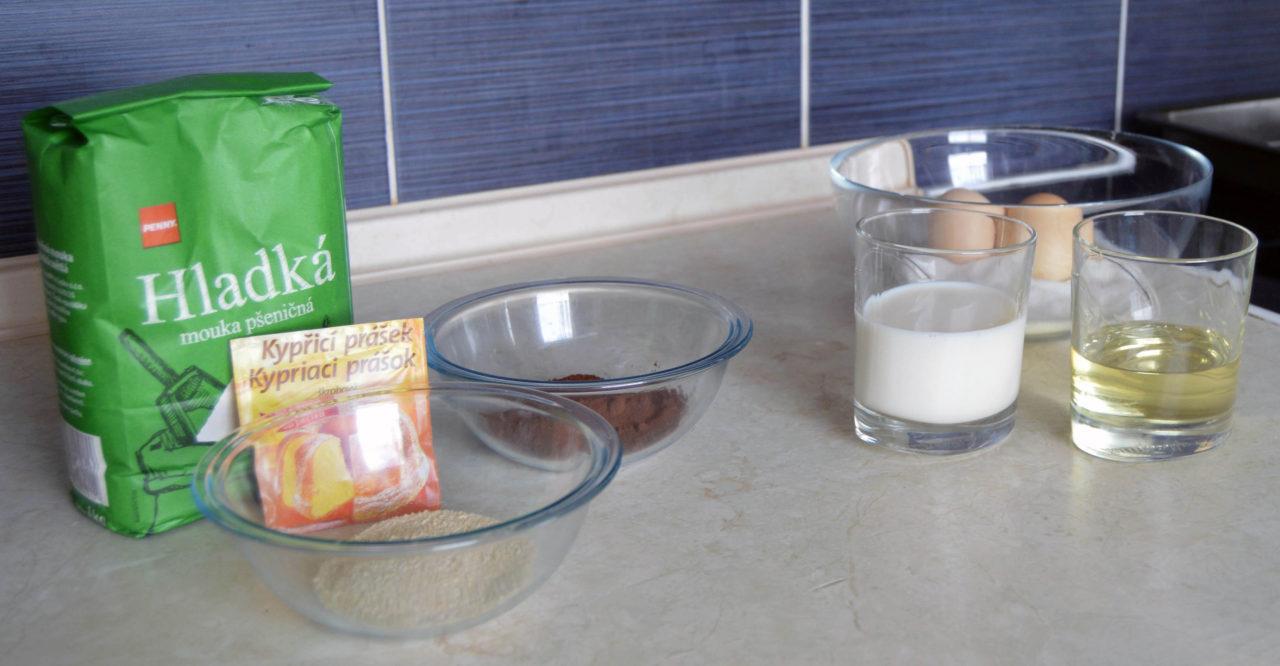 ingredience na krtkovy řezy