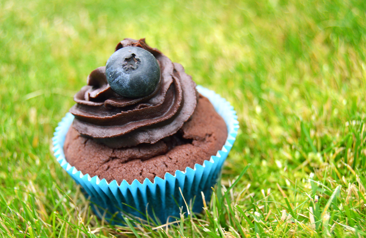 Hotový cupcake