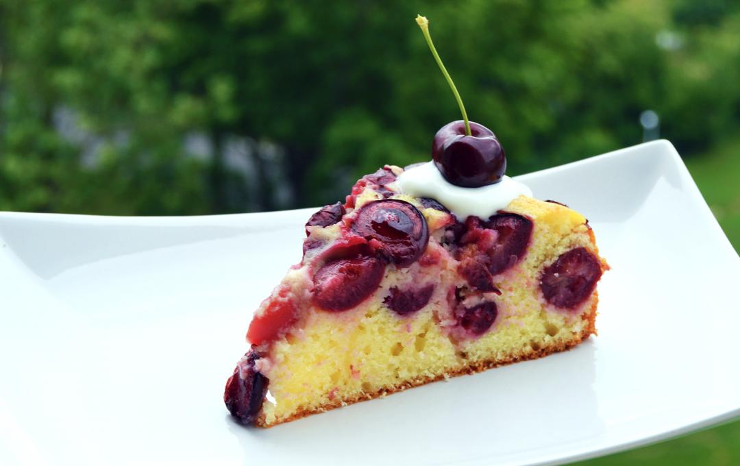 Třešňový koláč - náhled