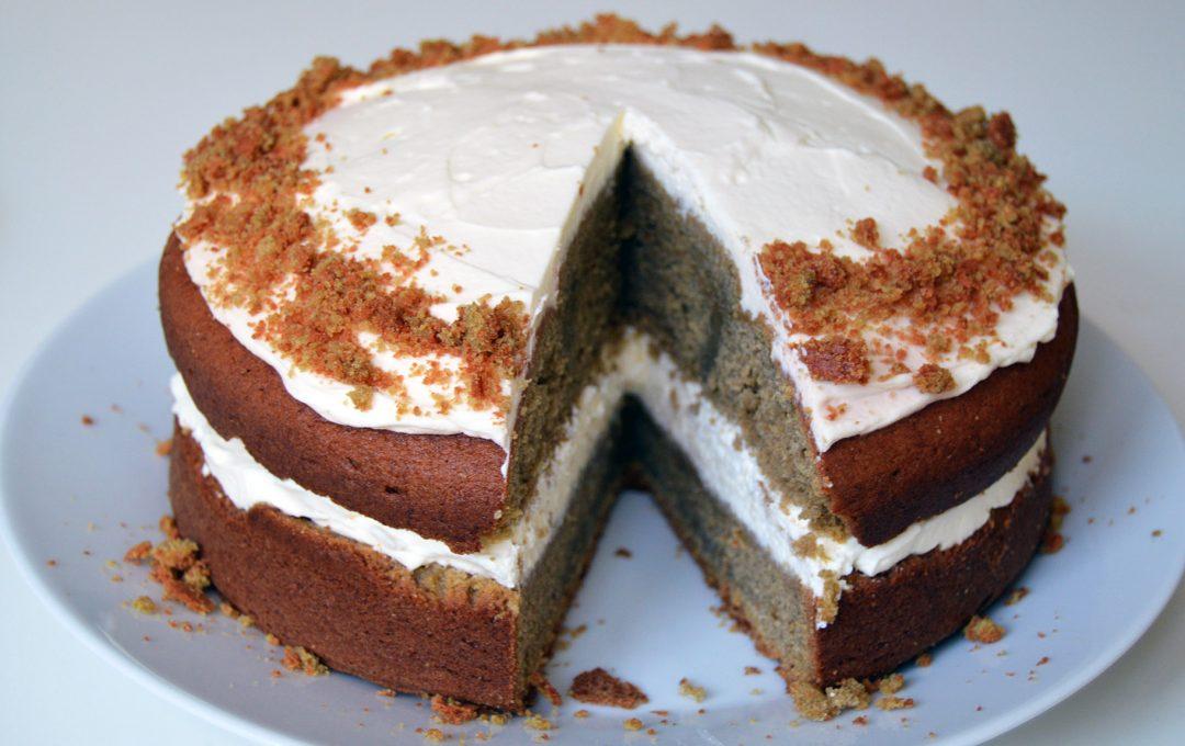 Mrkvový dort celý