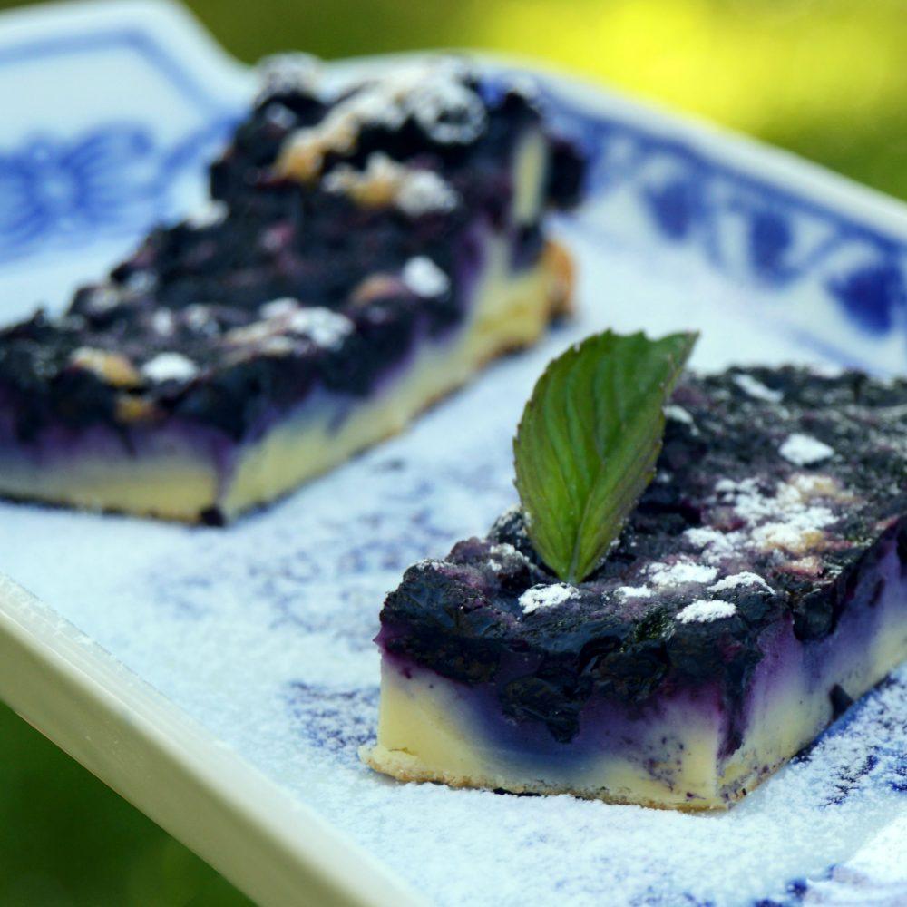 Recept - litá borůvková bublanina