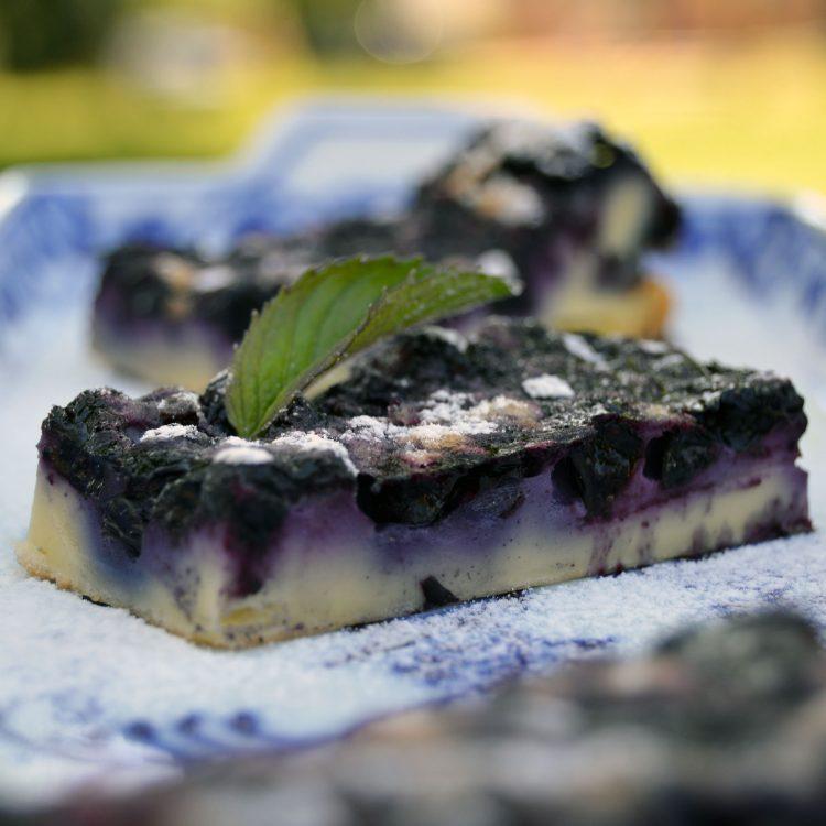 Recept: Litá borůvková bublanina