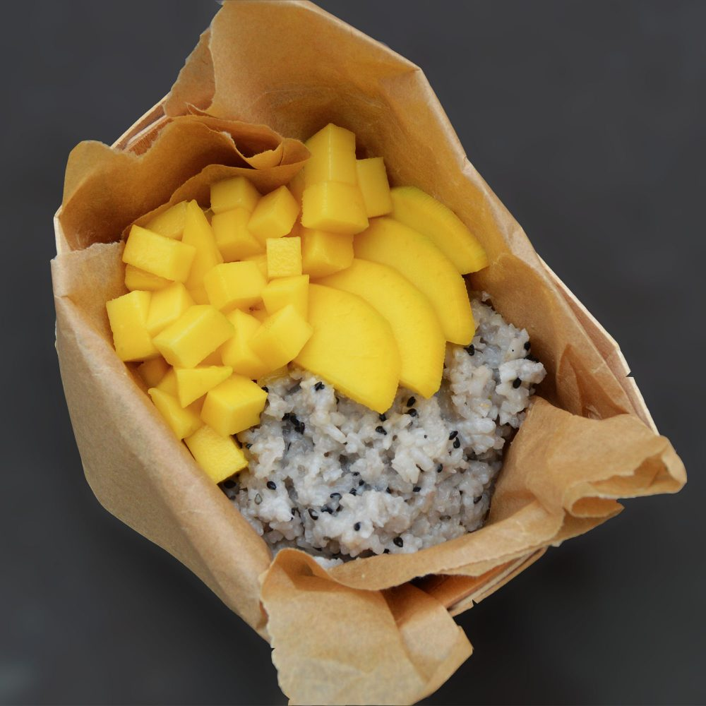 Mango sticky rice recept