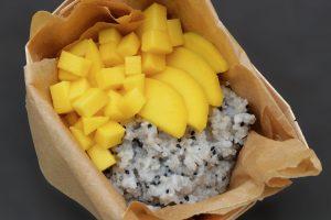 Mango sticky rice (Lepkavá rýže s mangem)